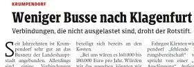 [28.11.2019 - Kleine Zeitung]