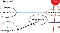 Gailtal: Busse und neue S-Bahn [16.08.]