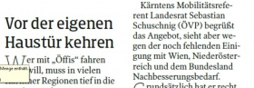 [20.08.2021 - Kleine Zeitung]