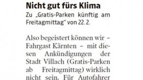 [05.03.2019 - Kleine Zeitung]