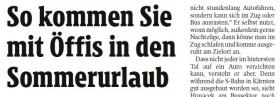 [22.07.2021 - Kleine Zeitung]