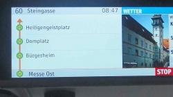 Monitore in allen Stadtbussen [06.04.]