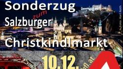 10. Dez.: Sonderfahrt nach Salzburg