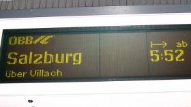Salzburg-Frühzug fehlt [14.05.]