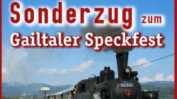 04.06.: Dampfzug ->Hermagor, Speckfest