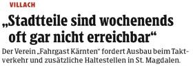 [18.12.2019 - Kleine Zeitung]